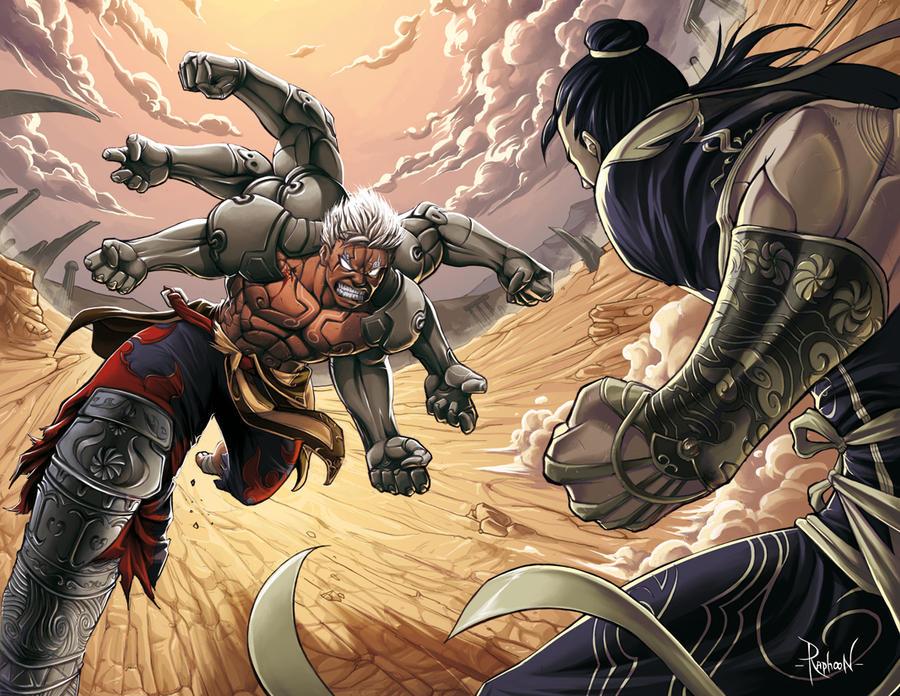 Asura's Wrath Fanart by RaphooN