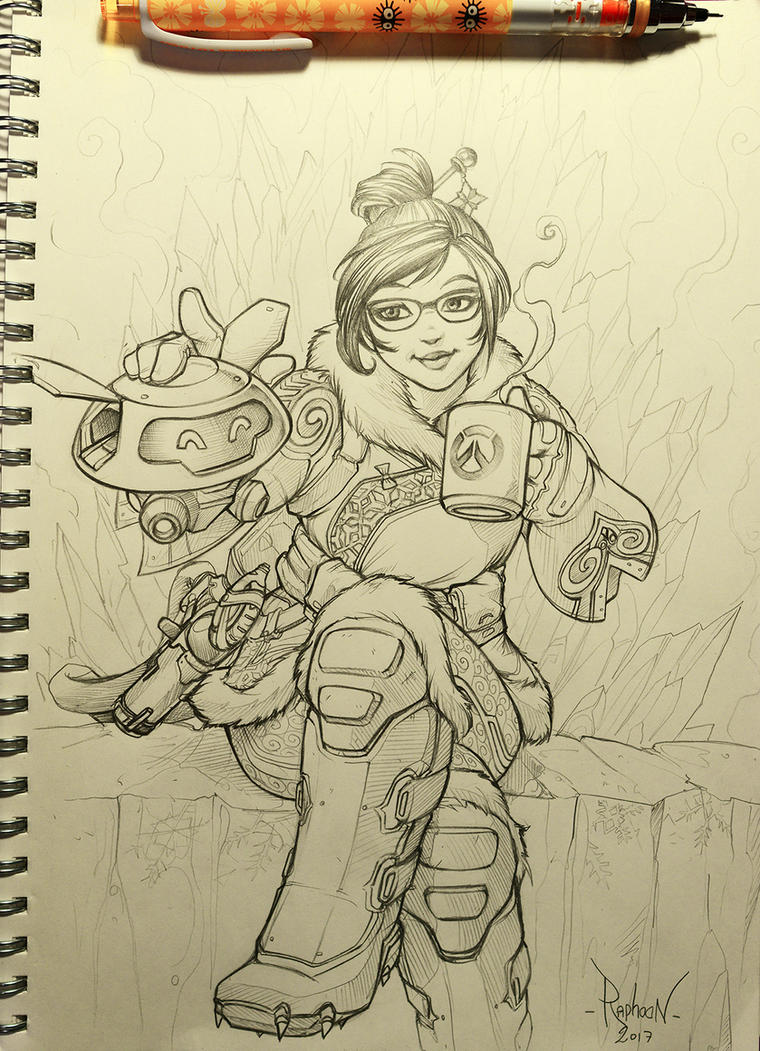 Mei - Time for a Break by RaphooN