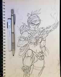Dark Mei - Sketch