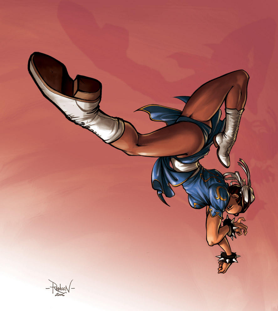 Chun Li by RaphooN