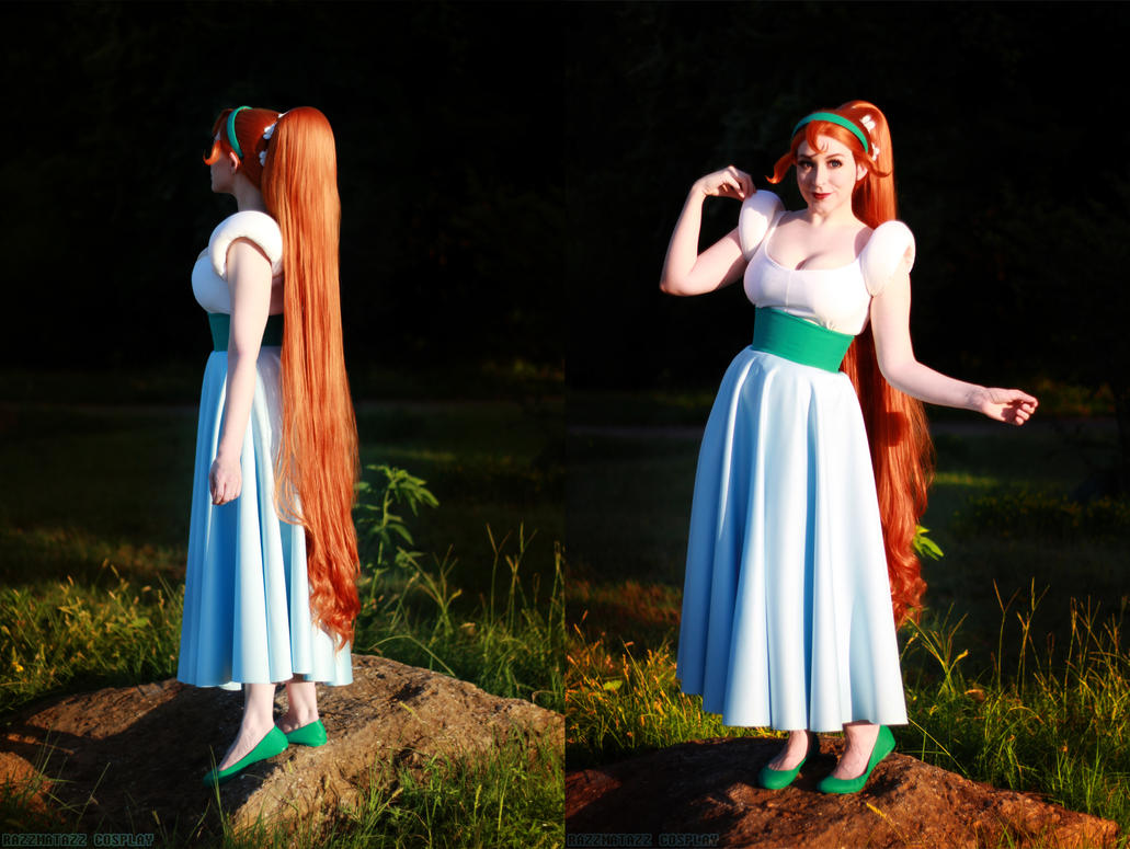 Thumbelina: Front and Back by srsRazzmatazz