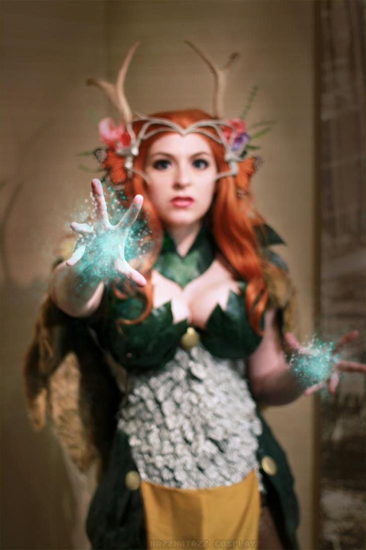 Critical Role: Druid Magic by srsRazzmatazz