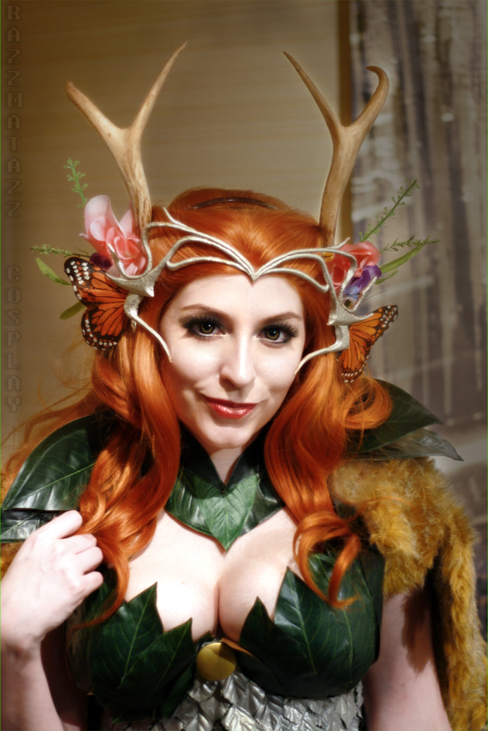 Critical Role: Keyleth of the Ashari by srsRazzmatazz
