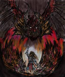 Autarch duels Bloodthirster