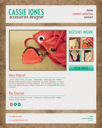 Cassie Jones Portfolio Website