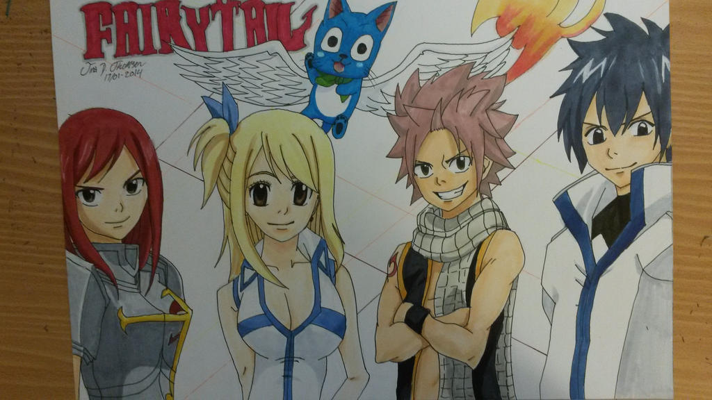 Fairy Tail by tinaditte