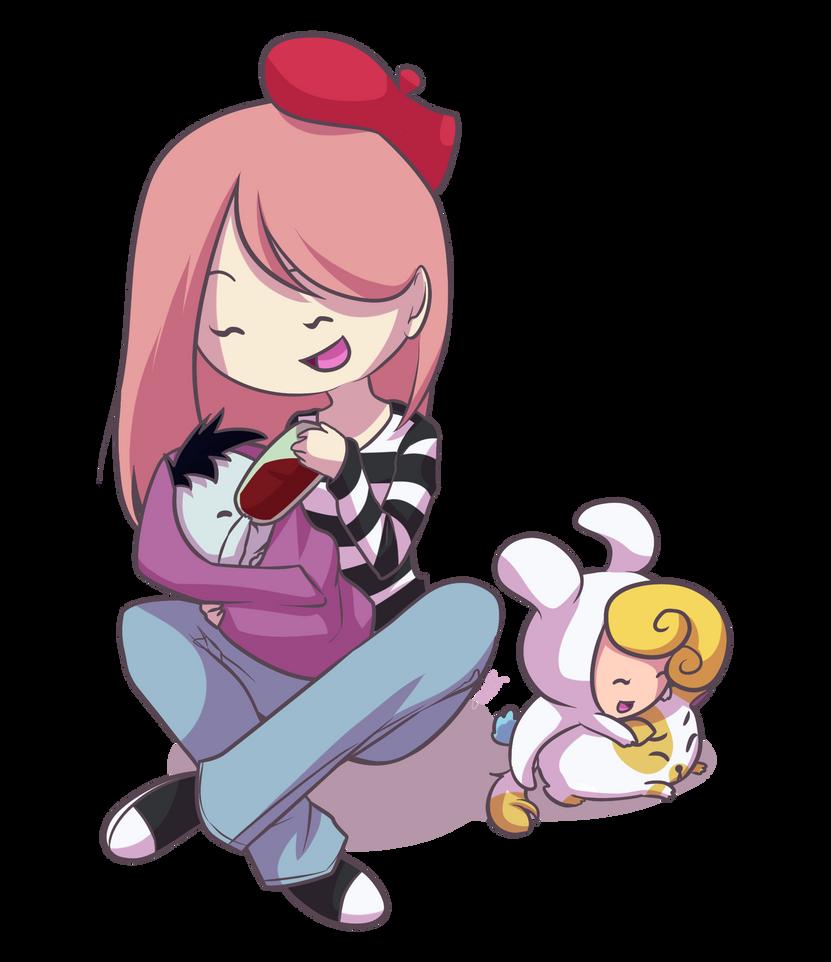 AT: Babies by Miss-Sheepy