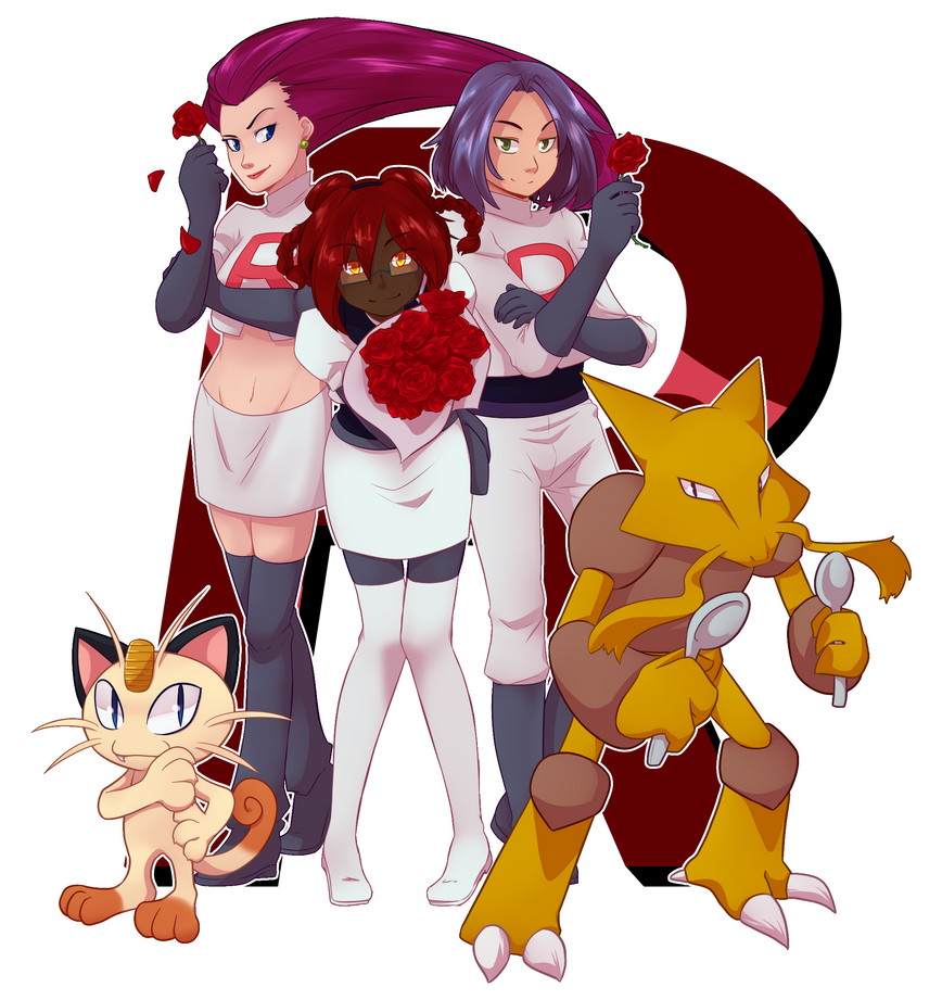 Comm: Team Rocket by Miss-Sheepy
