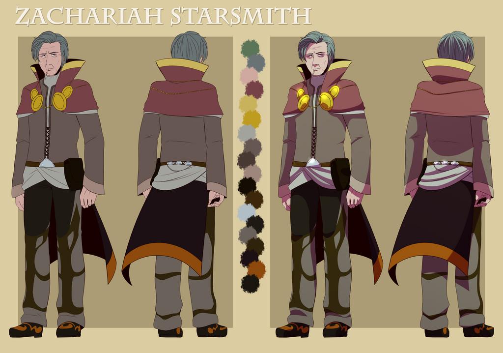 Comm: Zachariah Starsmith by Miss-Sheepy