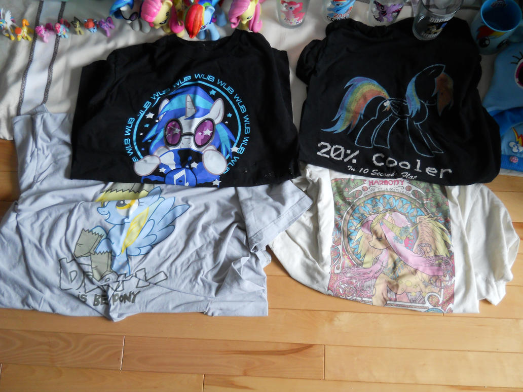 my tshirt of mlp by poupouch1234567890