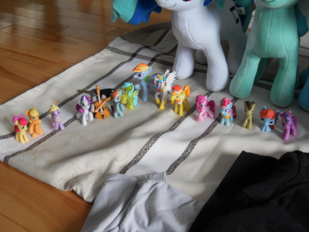 my figurine of mlp by poupouch1234567890