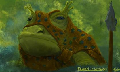 Frogman by Gembicki