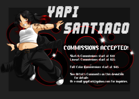Commissions Banner