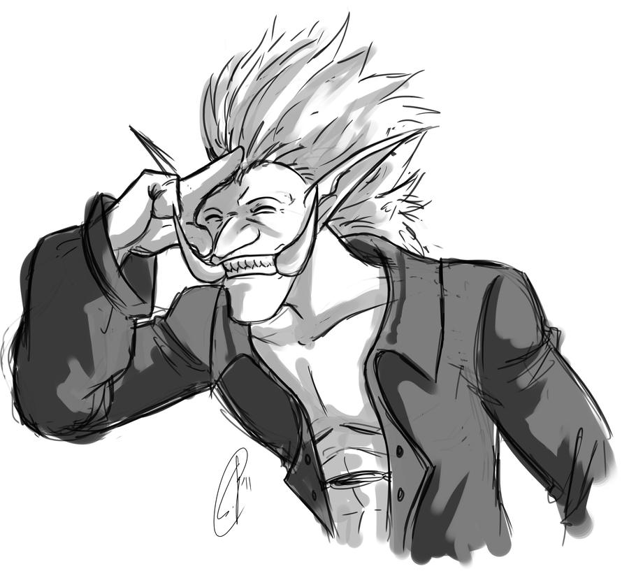Sketch for xdizzychanx by yapi