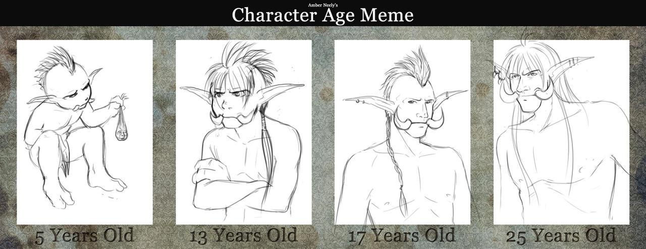 Meiles Age Meme by yapi