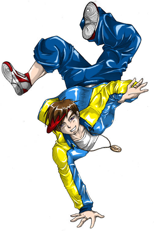 Commission - Hip Hop Boy by yapi