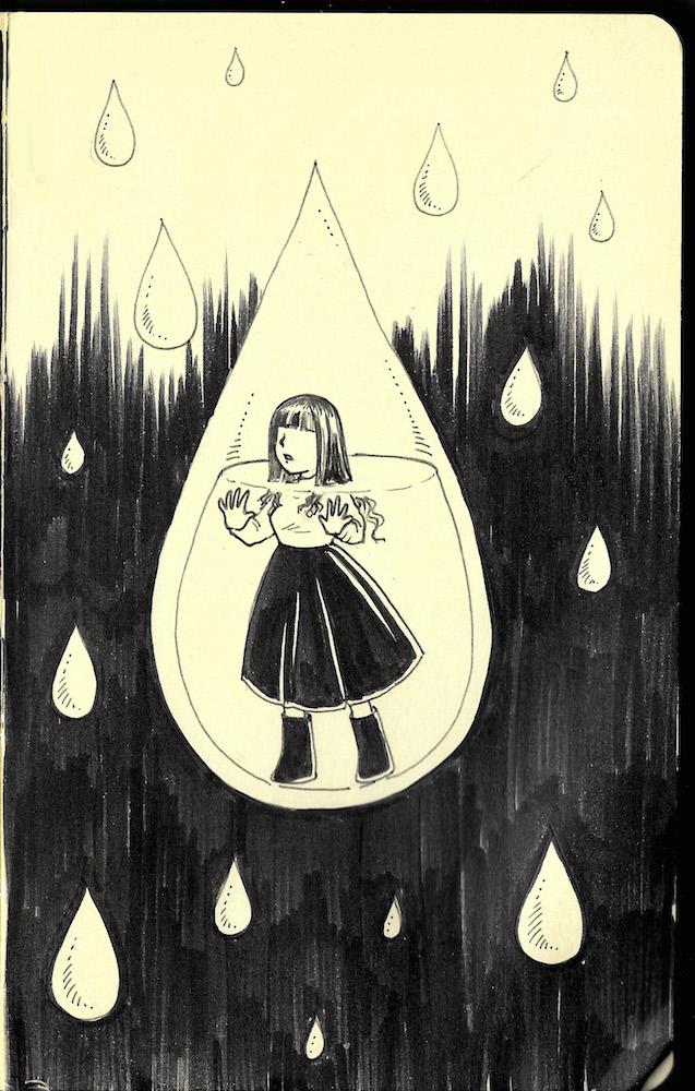 Oct 1 - rain by yapi