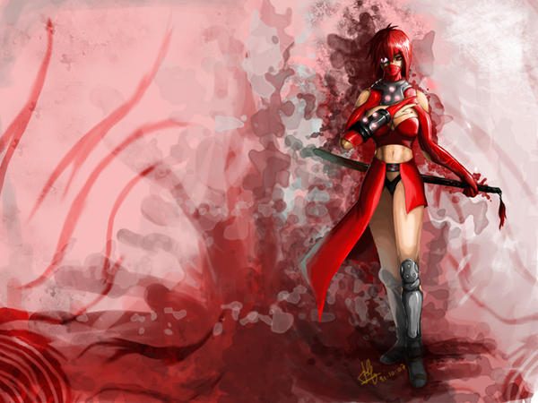wallpaper ninja. Red Ninja wallpaper by