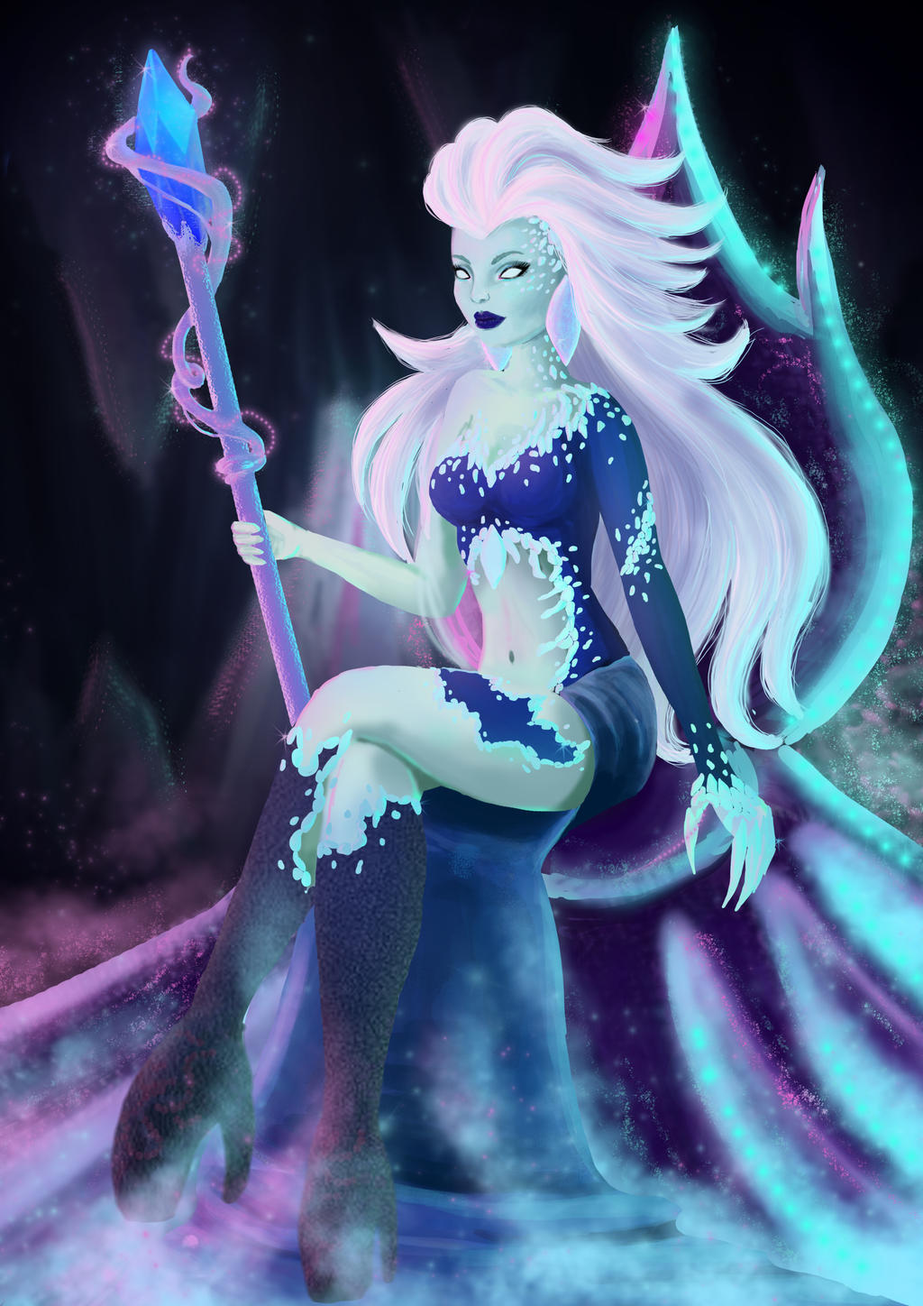 Ice Queen by Nyrine