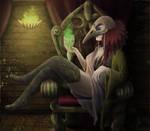 Bird Skull Shaman #3 by Nyrine