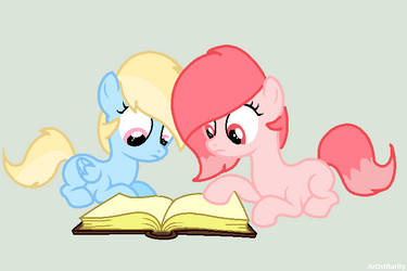 [Gift] Time To Read by Sweet-karem