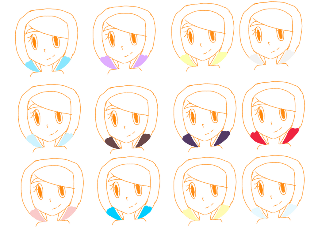 Different Tip Colors Ver 2 by ArtisticDreams20