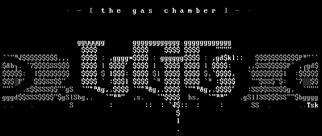 The Gas Chamber by sheffy
