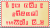 Not a Stamp by Sergeant-McFluffers