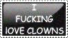 I Heart Clowns by Sergeant-McFluffers