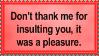 Pleasure by Sergeant-McFluffers
