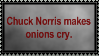 Chuck Norris Fact 1 by Sergeant-McFluffers