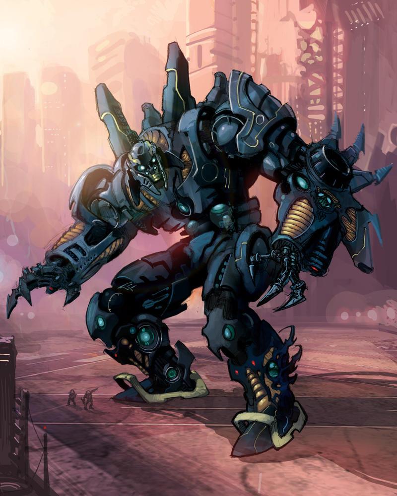 Evil Robot By Rusty001 On Deviantart