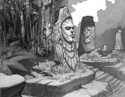Jungle Head Ruins by Rusty001