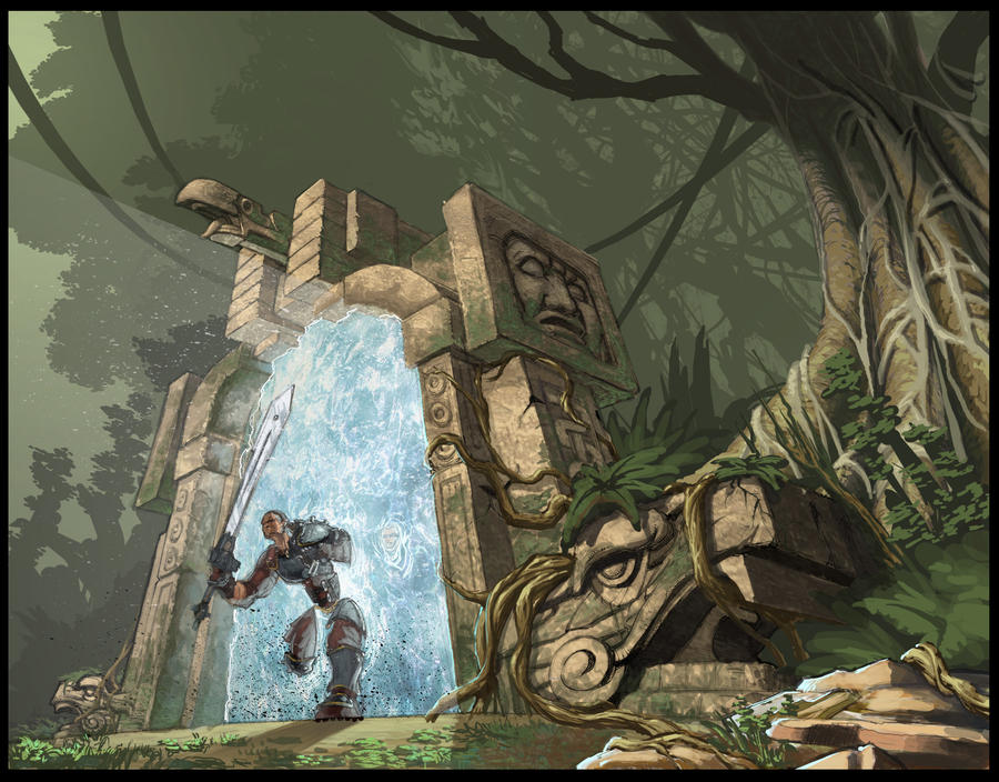 Chult jungle portal by rusty001 on deviantart - Portal entree ownership ...
