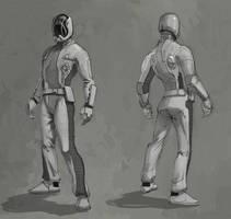 Space Uniform by Rusty001