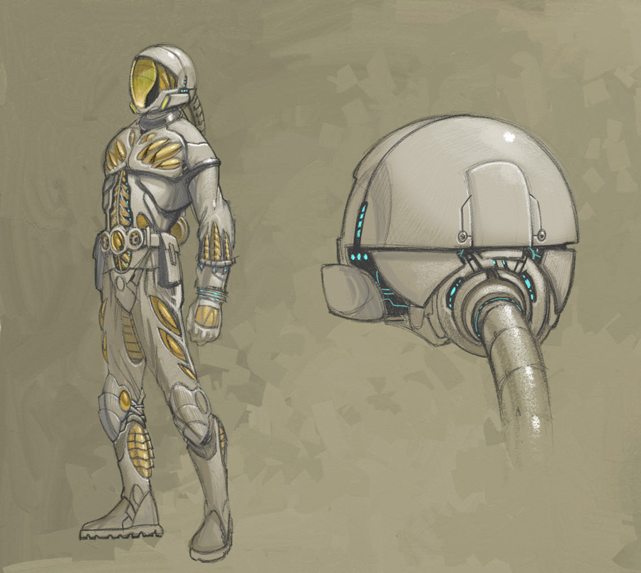 Space Suit By Rusty001 On Deviantart