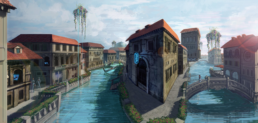Future Venice Canal by Rusty001