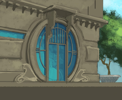 Circle Door Sketch by Rusty001 ... & Circle Door Sketch by Rusty001 on DeviantArt