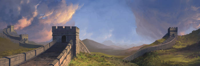 Great Wall BG Plate by Rusty001