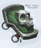 SkullPauldron