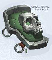 SkullPauldron