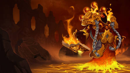 DD2 Abyss Lord Molten Master Wallpaper