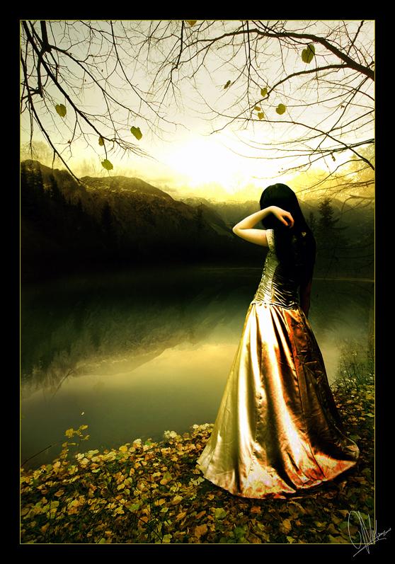 The Lake Princess by Kechake
