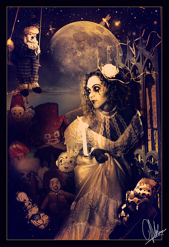 The Clowns. by Kechake