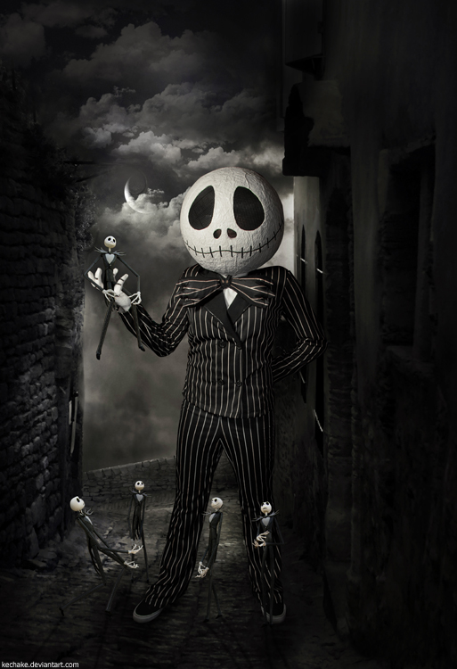 Jack Skellington by Kechake