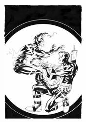 Punisher Cover:005 by mike2112mckone