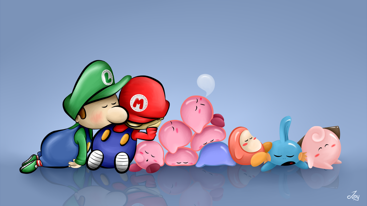 Sleepy time at Nintendo's by Lucky-Jacky