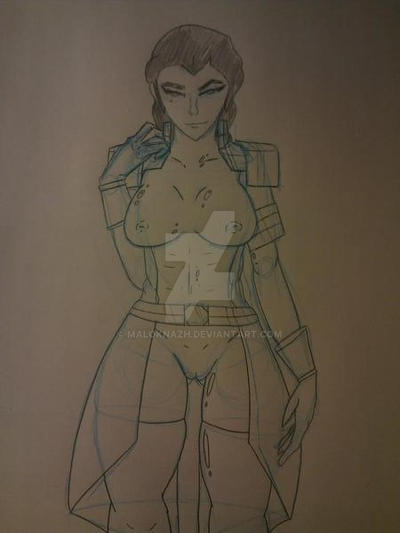 Kuvira Sketch by Maloknazh