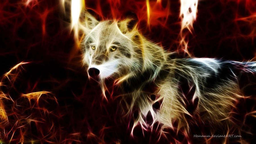 Wolf Fractal by Hemamm