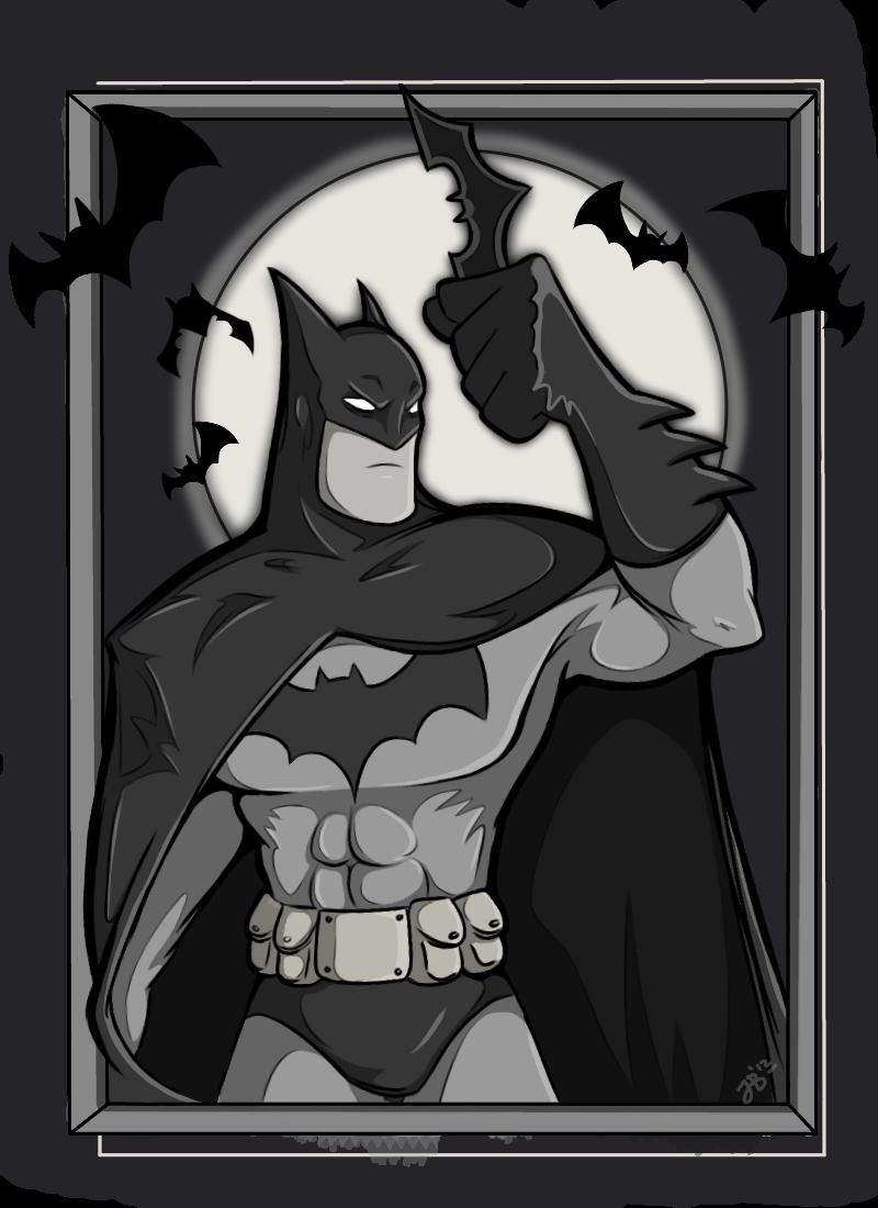 Batman Card by Lucidious89